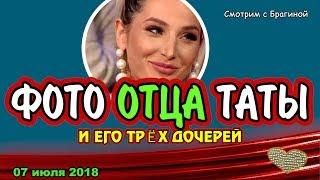ДОМ 2 НОВОСТИ, 7 июля 2018  ТАТА  показала семью ОТЦА