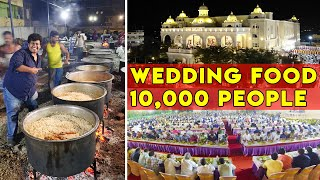 10,000 People in Grand Wedding | VEG and NON-VEG Catering by Limra