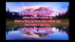 Easton Corbin - This Feels a Lot Like Love Lyrics