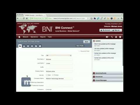 BNI - Receive BNI Email