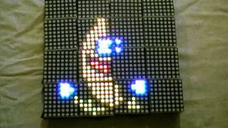 Woooshing leds - Rotated animation by arduino