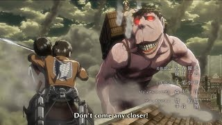 Eren Meets For The First Time Zeke And Runs Away From Levi | Attack On Titan Season 3