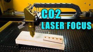 CO2 Laser Focus / Focusing Laser Lens Ramp Test - Laser Engraver Beginner Series Ep. 6