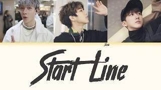 3RACHA (쓰리라차) - Start Line [Han/Eng/Rom Color Coded Lyrics]