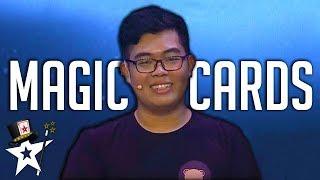 Card Tricks Stuns Judges on Myanmar