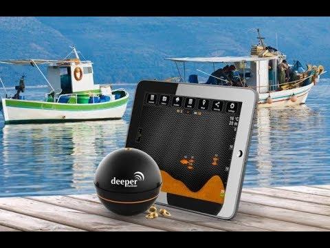 Deeper Sonar Fishfinder, un ecoscandaglio portatile per la pesca!