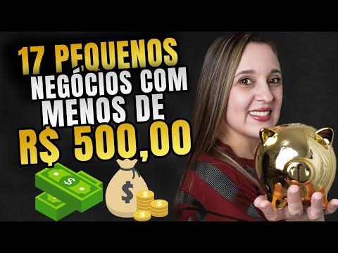 , title : '💡 17 IDEIAS DE NEGÓCIOS com menos de 500 Reais [Pequenos NEGÓCIOS LUCRATIVOS 2020] | Mafalda Melo'