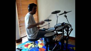 The Police - Every Breath You Take drum cover (Beginner)