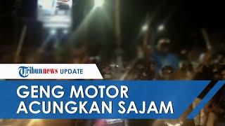 Fakta Video Viral Geng Motor Konvoi dengan Acungkan Senjata Tajam di Serang, 5 Orang Diringkus