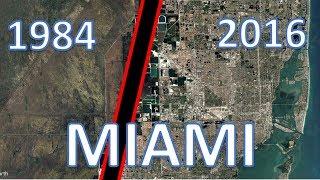 Miami, Florida - Timelapse