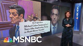 President Donald Trump Tells Close Friends He Fears Impeachment   Velshi & Ruhle   MSNBC