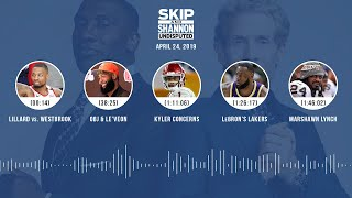 UNDISPUTED Audio Podcast (04.24.19) with Skip Bayless, Shannon Sharpe & Jenny Taft | UNDISPUTED