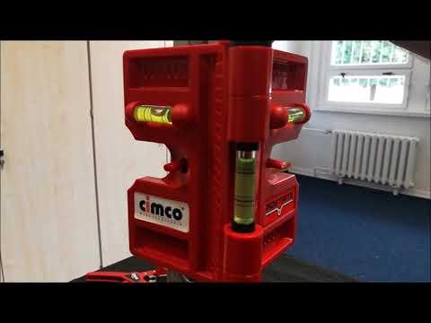 3D Wasserwaage magnetische Klappwasserwaage Cimco 211554 magnetisch aus Kunststoff