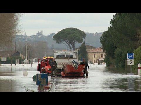 Πλημμύρες στην Γαλλία