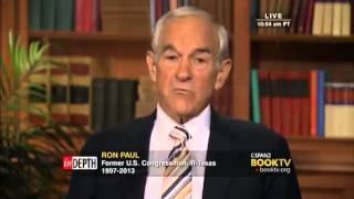 "Ron Paul full ""In Depth"" interview C-SPAN 8/3/14 *HQ*"