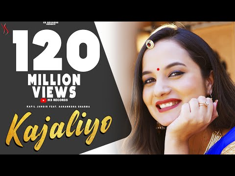 KAJALIYO (Official Video) Aakanksha Sharma | Kapil Jangir | New Rajasthani Song 2019 | KS Records