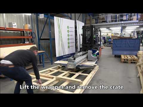 CTT 230: Unpacking the machine