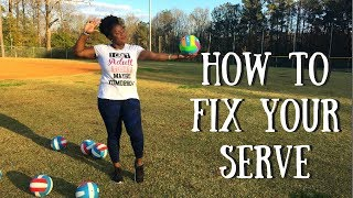 HOW TO FIX YOUR SERVE ! - Tips & Tricks