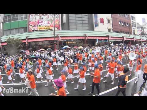 2015 第34回浅草サンバカーニバル 浅草小学校サンバ隊