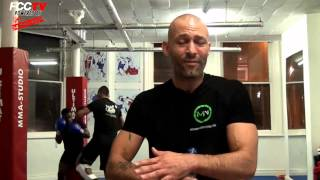 FCC MMA catch up with Ozzy Haluk from MMA Studio Manchester