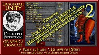 Daggerfall Unity 0-10-27  A Walk in Rain - A Glimpse of Desert