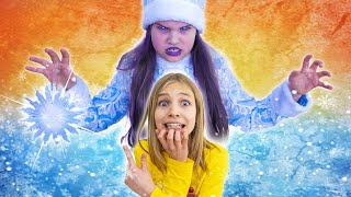 Amelia, Avelina and the frozen Ice Queen challenge - Chapter 2!