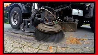 preview picture of video 'Машина дворник в германии. Straßenfeger in Deutschland 4k GoPro hero 4 ТЕСТ'