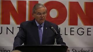 Menendez Introduces Legislation to Make Community College Tuition-Free