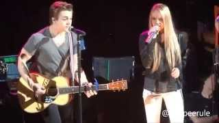 Danielle Bradbery and Hunter Hayes 'Endless Summer' LIVE!!