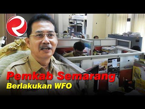 Pemkab Semarang Berlakukan Work From Office