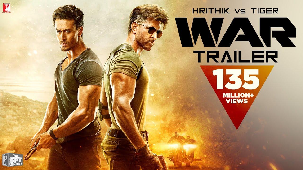 War | Official 4K Trailer | Hrithik Roshan | Tiger Shroff