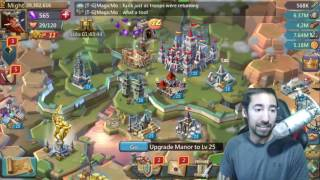 Lords Mobile BEST WAY TO BUILD TROOPS FAST   WHAT TROOP DO YOU USE
