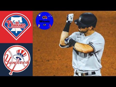Yankees vs Phillies Highlights (Doubleheader Game 2) | (MLB Highlights 8/5/2020)
