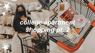 College Apartment Shopping Vlog Pt. 2 | Tj Maxx & Marshalls