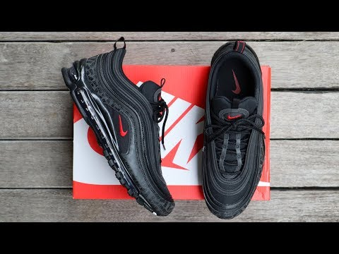 """NIKE AIR MAX 97 """"REFLECTIVE LOGO"""" BLACK 