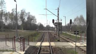 preview picture of video 'Odcinek Łódź Kaliska - Łowicz Przedmieście z tyłu pociągu TLK Wrocławianin'