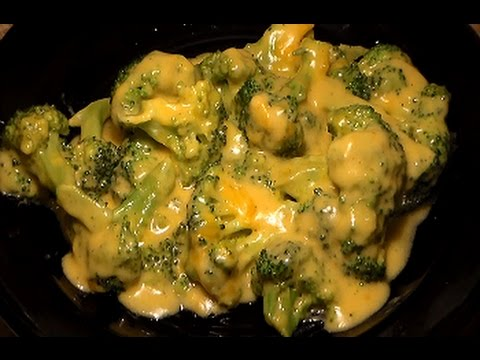 Video How To Make Cheesy Broccoli: Awesome Broccoli With Cheddar Cheese Sauce Recipe