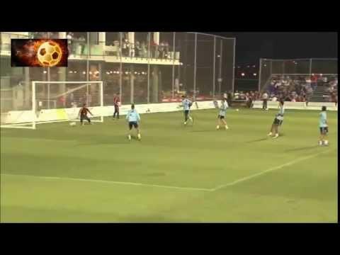 Alvaro Morata Scores 2 AMAZING GOALS in Spain U21 training