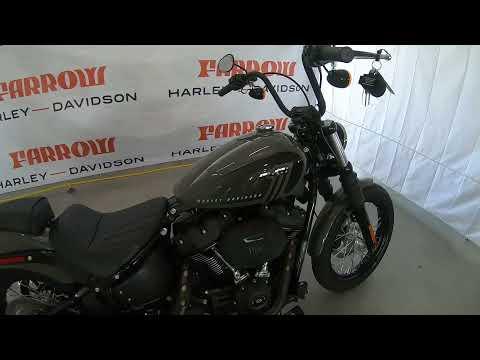 2021 Harley-Davidson Street Bob 114 FXBBS