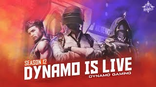 PUBG MOBILE LIVE RANK PUSHING WITH DYNAMO | HYDRA BOYS + HYDRA GIRLS TOGETHER` | SUBSCRIBER GAMES