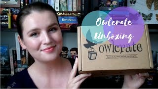 August OwlCrate Unboxing