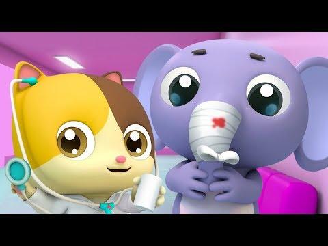 Kitten Doctor in Hospital | Doctor Cartoon | Kids Cartoon | Nursery Rhymes | Baby Songs | BabyBus