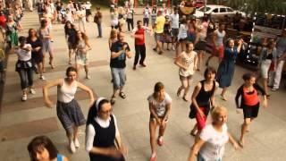 Przystań z Jezusem - flash mob 2015