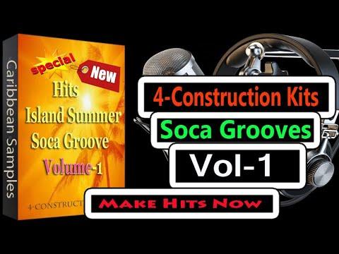 5-Kits total/Soca Groove/4 Construction Kits