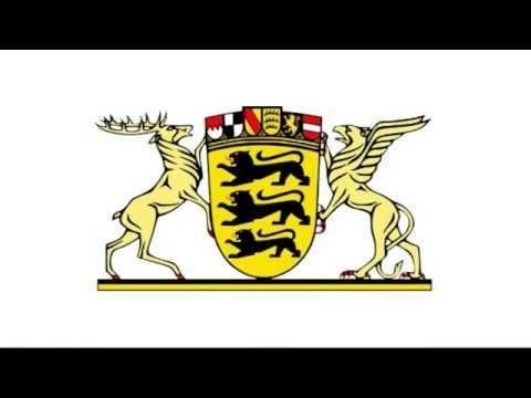 Baden-Württemberg - Wappen und Flagge