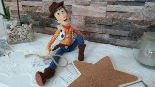 Woody Sceriffo Di Toy Story Amigurumi Crochet Cowboy Walt Disney SUB -ESP -Türkçe--ENG-POR