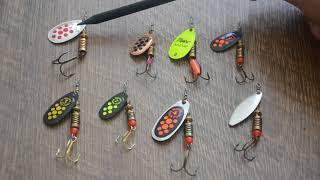 Самые уловистые рыболовные вертушки