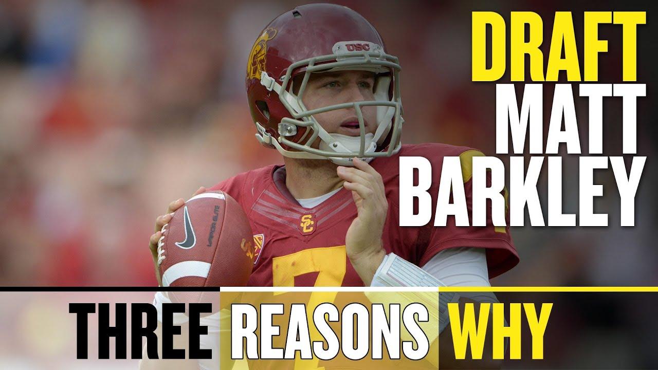2013 NFL Draft: Draft Matt Barkley (Three Reasons Why) thumbnail