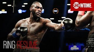RING RESUME: Deontay Wilder | Part I | SHOWTIME Boxing