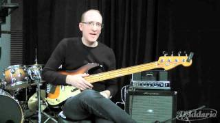 Garth Fielding On XL Nylon Tapewound Bass Strings